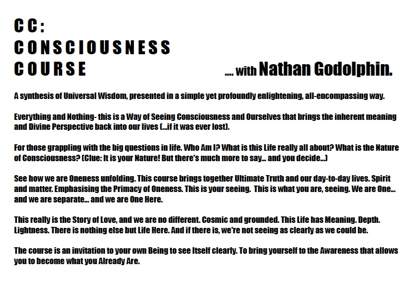 Consciousness Course Flyer 1