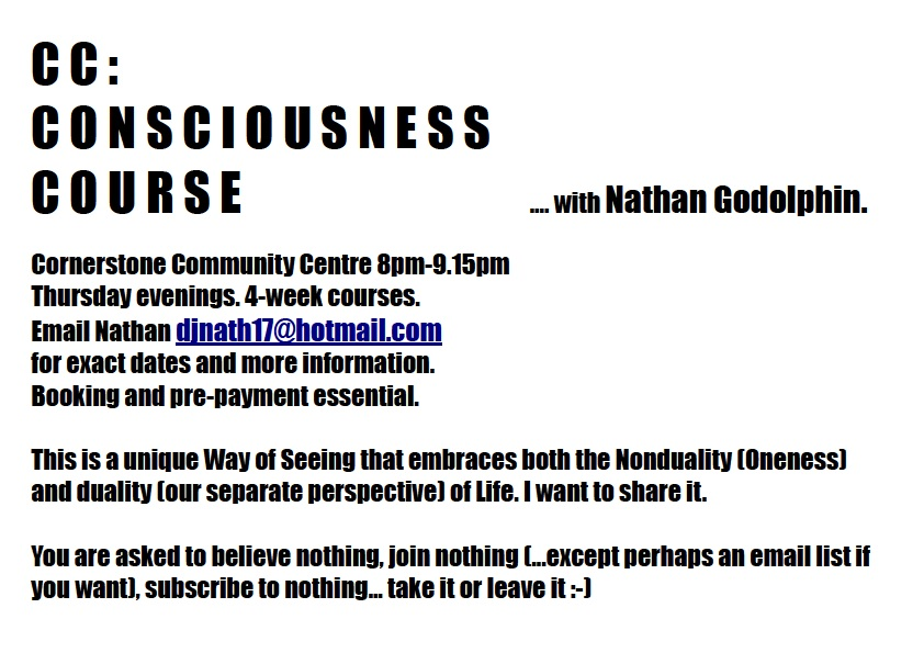 Consciousness Course Flyer 2